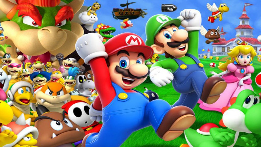mario best selling game franchises