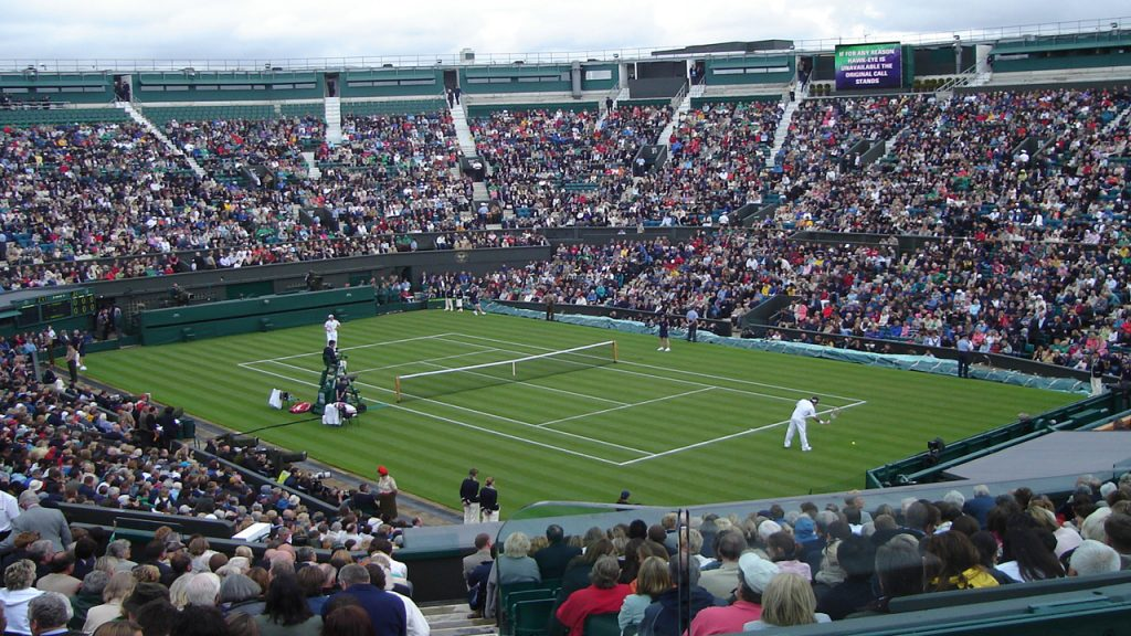 Centre Court wimbledon 2020