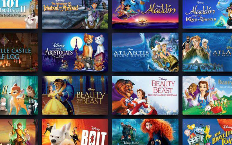 best animated movies on disney plus