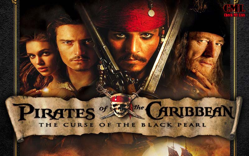 pirates of caribbean black pearl
