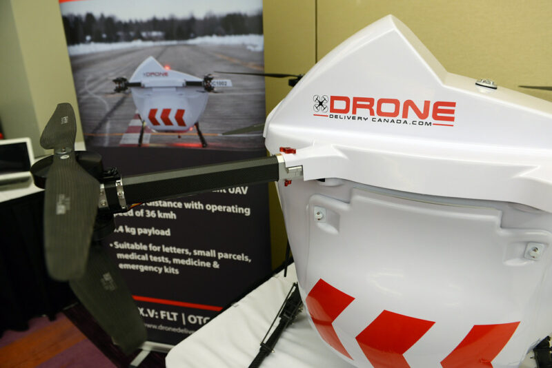 drone medical kit delivery