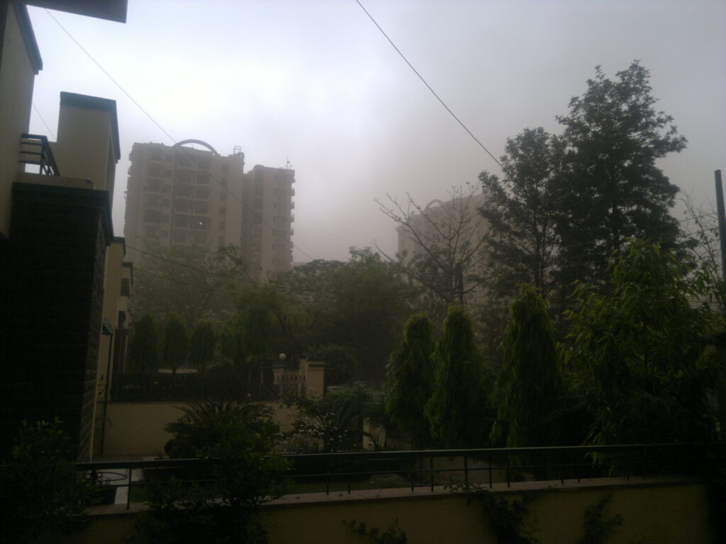 indian dust storms