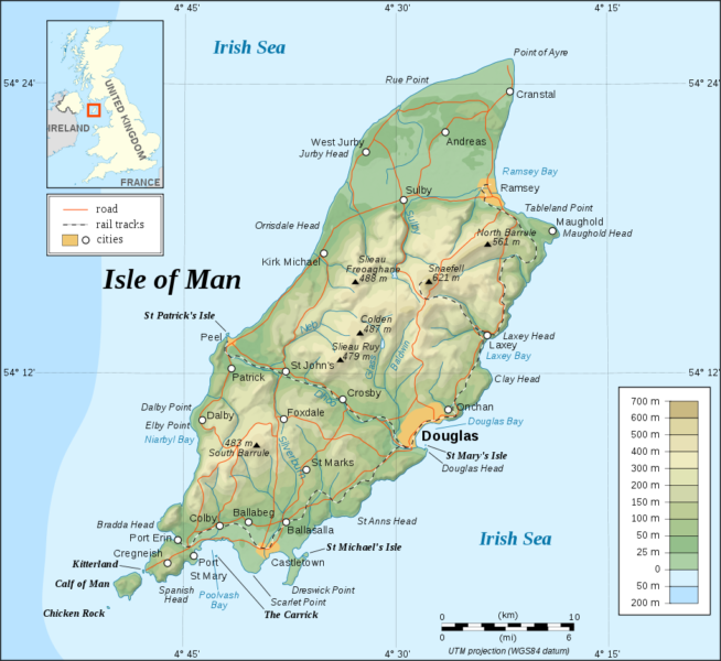 isle of man geography